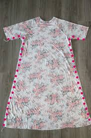 How To Make A Dress Pattern New The Easy Tee Swing Dress Simple Sewing Tutorial It's Always Autumn