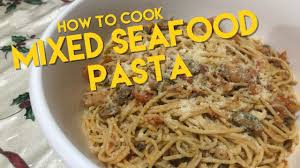 How To | Mixed Seafood Pasta - YouTube