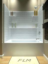 one piece bathtub and surround bathroom tub and shower one piece another diamond option with more one piece bathtub and surround