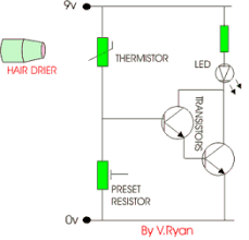 thermistors circuit explanation in detail