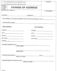 Print Change Of Address Form 24 Images Of Template Change Of Address Helmettown 24