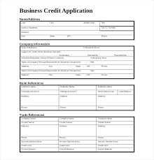 account application form template. Account Application Form Template Business Credit Application
