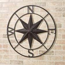 earhart compass wall art tuscan slate touch to zoom