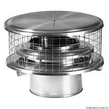 stove pipe cap. weathershield chimney cap for air insulated pipes | wood stove |woodlanddirect.com: pipe i