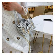 Fashion <b>Trend</b> Handbag <b>Luxury Personality</b> Clothes Shape Bag Dot ...