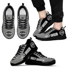 3d All Over Printed Harley Davidson Sneakers For Men Women Ver 18