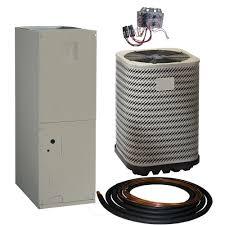 carrier 2 ton heat pump. kelvinator 2 ton 14 seer r-410a split system package heat pump system-jt4be024ka - the home depot carrier