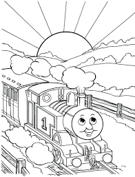 Coloring Pages: train coloring pages to print. Thomas The Tank ...