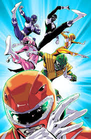 Mighty Morphin Power Rangers By Pop