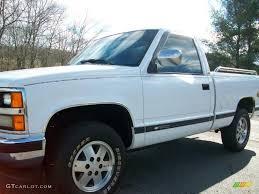 1989 White Chevrolet C/K K1500 Scottsdale Regular Cab 4x4 ...