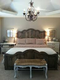 Delightful Love My New French Farmhouse Chic Bed And Bedroom. Rustic Industrial  Vintage Farmhouse | Inspired