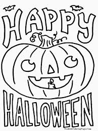 Small Picture Happy Halloween Coloring Pages Online Coloring Page