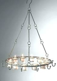 hanging candle chandelier chandeliers ideas for a diy