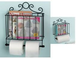 Toilet Paper Holder With Magazine Rack Metal Toilet Roll Tower Paper Holder Magazine Rack Toilet 13