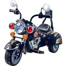 amazon com 3 wheel chopper trike motorcycle for kids battery
