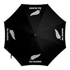 <b>Зонт</b>-<b>трость с деревянной</b> ручкой Новая Зеландия регби ...