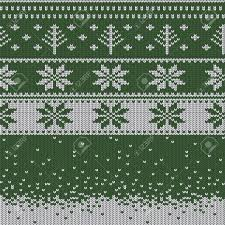 christmas sweater pattern background green. Delighful Sweater Knitted Christmas Sweater Pattern With Deers Firtrees Snowflakes Winter  Fabric Background To Sweater Pattern Background Green T