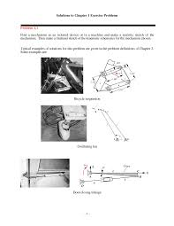 Mechanical Design Of Machine Components Second Edition Solutions Manual Pdf Chapter 1 Solution Manual Kinematics Dynamics And Design