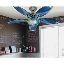 blue ceiling fan light globes