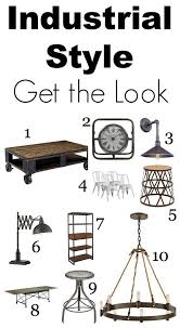 home style lighting. get the look industrial chic home style lighting a