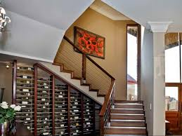 you can also make your under stair storage to put your clothes bags shoes etc this area has function same as cabinet to put your outside stuff