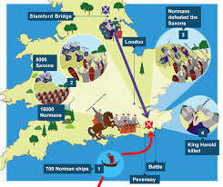 「battle of hastings map」の画像検索結果
