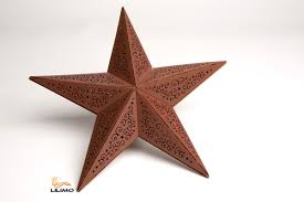 Holz Leuchtstern Mit Leds Little Stars Braun ø 39 Cm Weihnachtsstern Beleuchtet