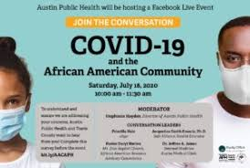 APH to host conversation about Covid-19 and the African American community  - Austin MonitorAustin Monitor