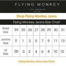 Flying Monkey Flare Jeans Nwt