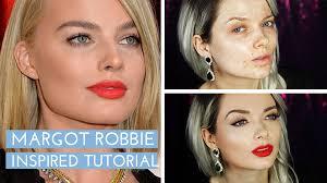 margot robbie os 2016 make up tutorial margot robbie