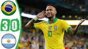 Brazil vs Argentina 3 0 All Goals ...