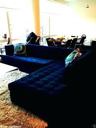 navy sectional sofa leather