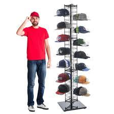 baseball cap display rack hat display