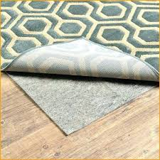 waterproof rug pad area rugs and pads rubber backing for with best wood floors hardwood what