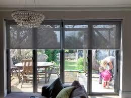 door blinds roller. Kitchen Patio Door Blinds Inspirational Sunscreen Roller Over Bi Fold Doors In Living Room O
