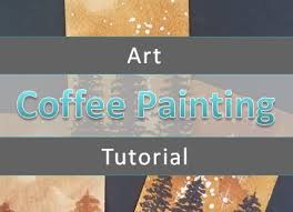 Real photo of a pink couch, round coffee tables and painting in a modern living room interior. Easy Coffee Painting For The Absolute Beginner Art By Ro