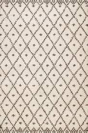 rugsville moroccan beni ourain ivory wool rug 13754