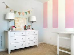 Striped painted walls Regard Craft Room Striped Painted Walls How To Nest For Less Craft Room Striped Painted Walls How To Nest For Less