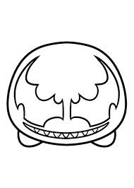 Tsum Tsum Coloring Pages Black And White Coloring Pages Plus