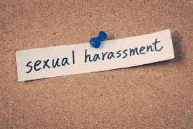 harassment in the workplace examples from famous movies brian  paper posted on board that says sexual harassment