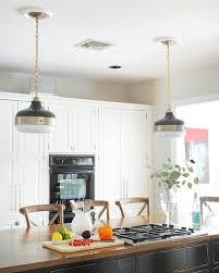 feiss cadence black and gold kitchen pendant light