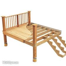 How to build a deck video Diy Build Deck Deck Building How To Build Low Deck On Ground Video Build Deck Diy Network Build Deck Build Deck Railing With Lattice Sajteninfo