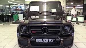 BRABUS 700 G Class 2016 In Depth Review Interior Exterior - YouTube