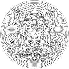 Mandala Kleurplaten Gratis Mandalas Mandala 3 Mandala Kinder Shshi