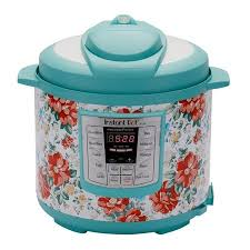 instant pot pioneer woman lux60 vintage fl 6 qt 6 in 1 multi use programmable pressure cooker slow cooker rice cooker saute steamer and warmer
