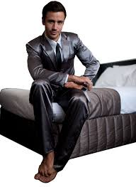 Mens Bedroom Wear The Official Mens Legendary Suitjamas Silk Suit Pajamas At