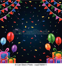 Happy Birthday Background Images Vector Illustration Of Happy Birthday Background