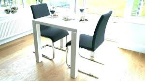 small round white dining table and chairs gloss kitchen set for