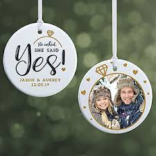 2019 Personalized Couples Christmas Ornaments | Personalization ...