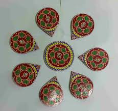 Small Picture Buy Designer Wooden Rangoli Pieces Online Shopping For